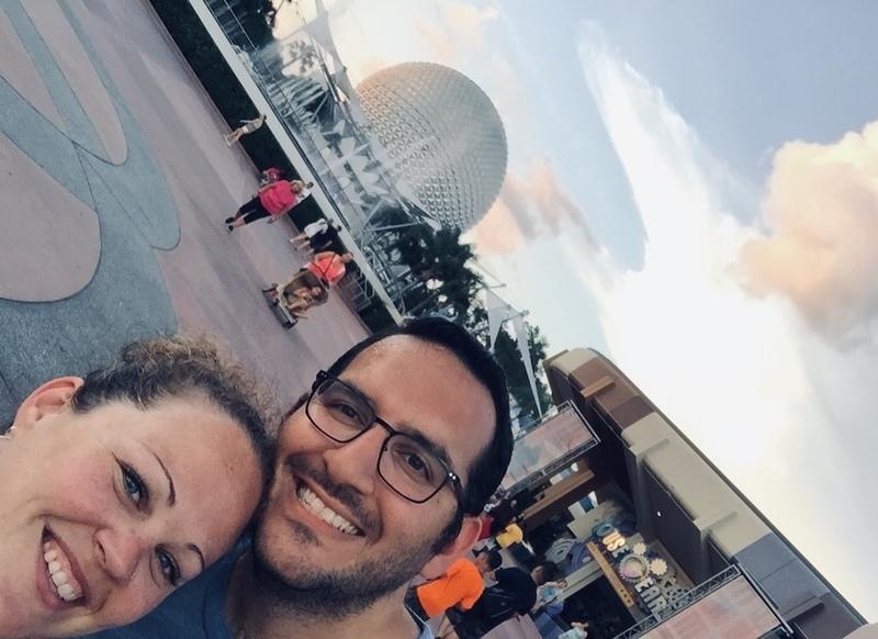 Disney Epcot Couple