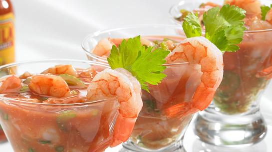 Simple Shrimp Ceviche