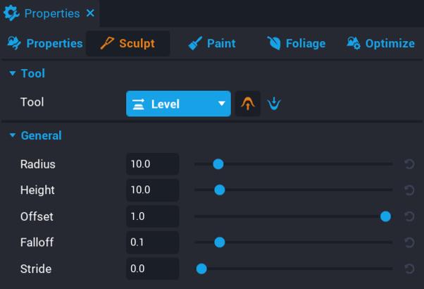 Select Level Tool