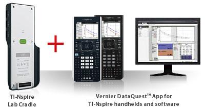 vernier dataquest cradle