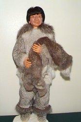 eskimo man doll