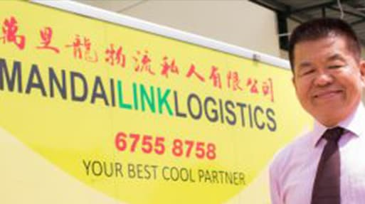 Mandai Link - Delivering cold chain logistics to Asia