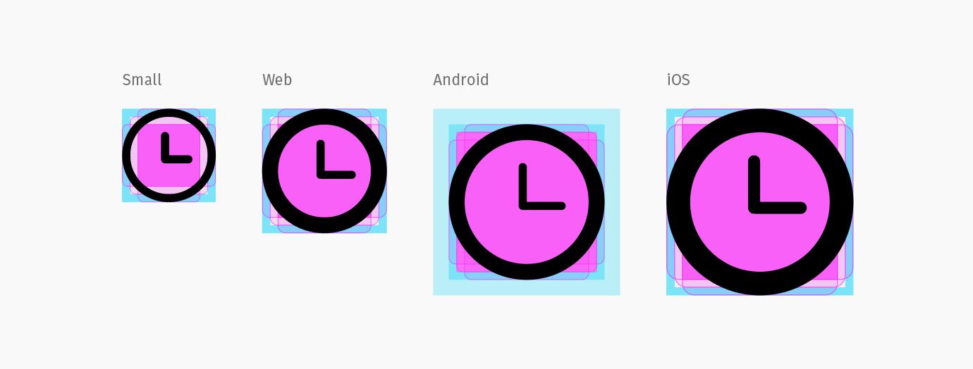 Icon templates screenshot