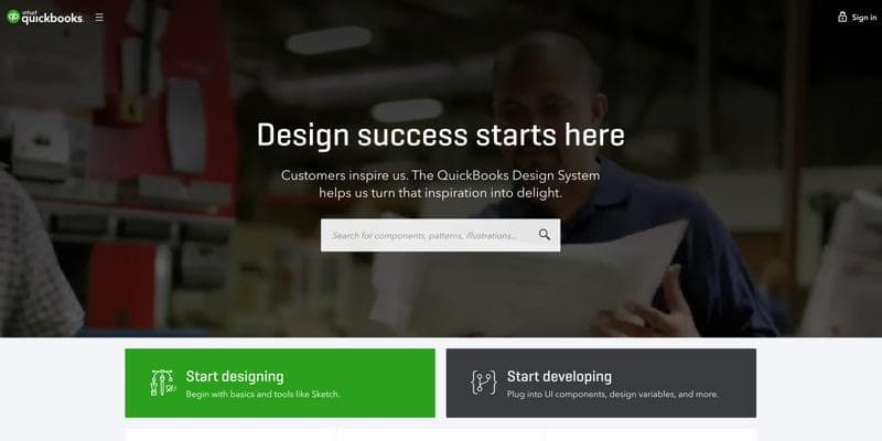 QuickBooks Design System