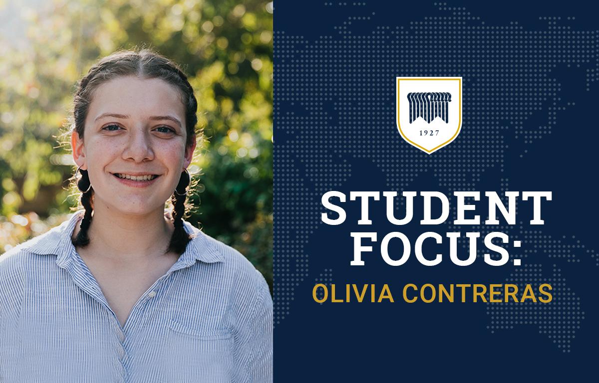 Student Focus: Olivia Contreras image