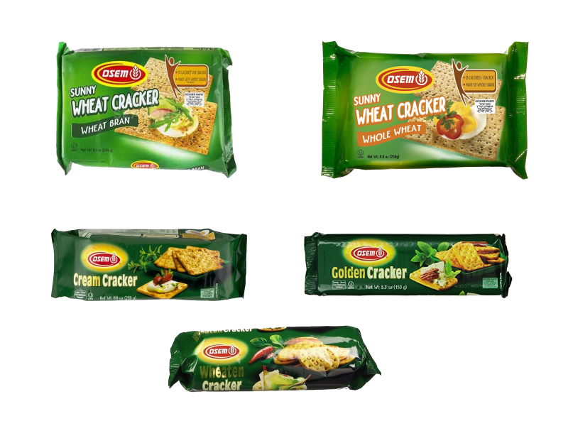Selected Osem Crackers