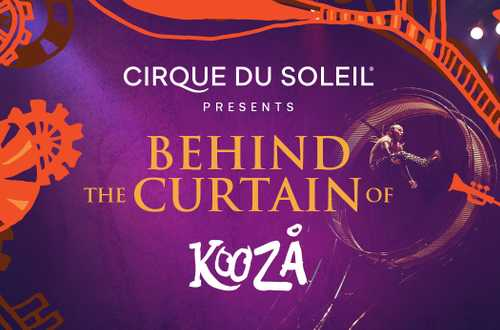 Behind the curtain of KOOZA