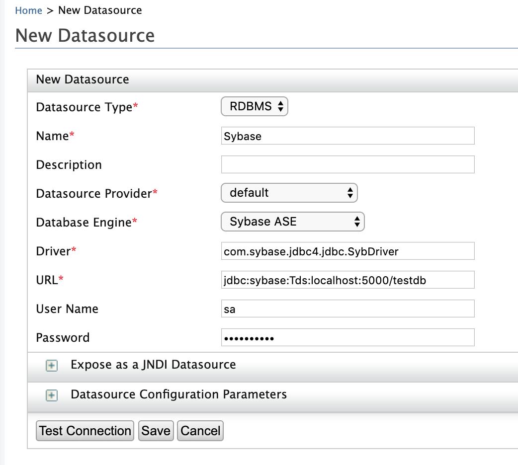 Creating WSO2 EI DataServices With Sybase Database - DZone
