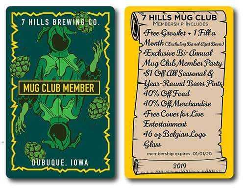 Mub Club Membership - 2019
