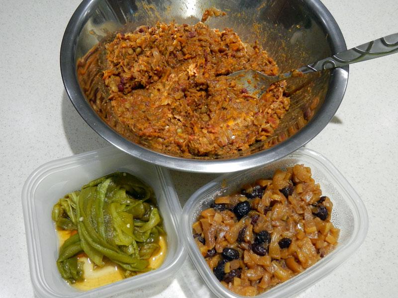 Various Tamale Fillings