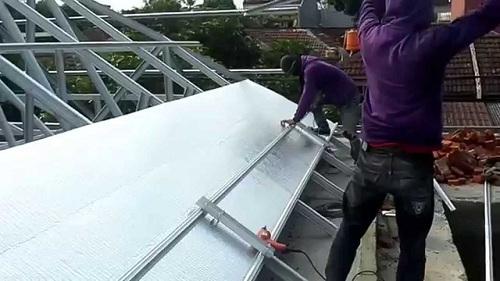 Cara Pemasangan Alumunium Foil Double