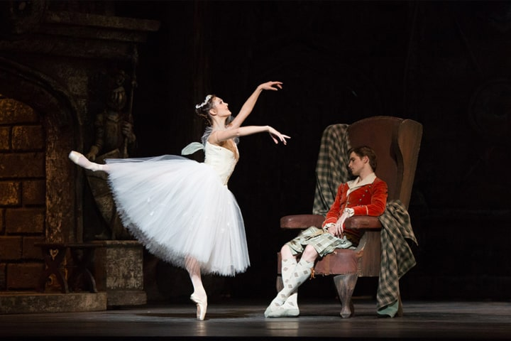 """Robert Thomson's lighting design for the National Ballet of Canada's production of """"La Sylphide""""."""
