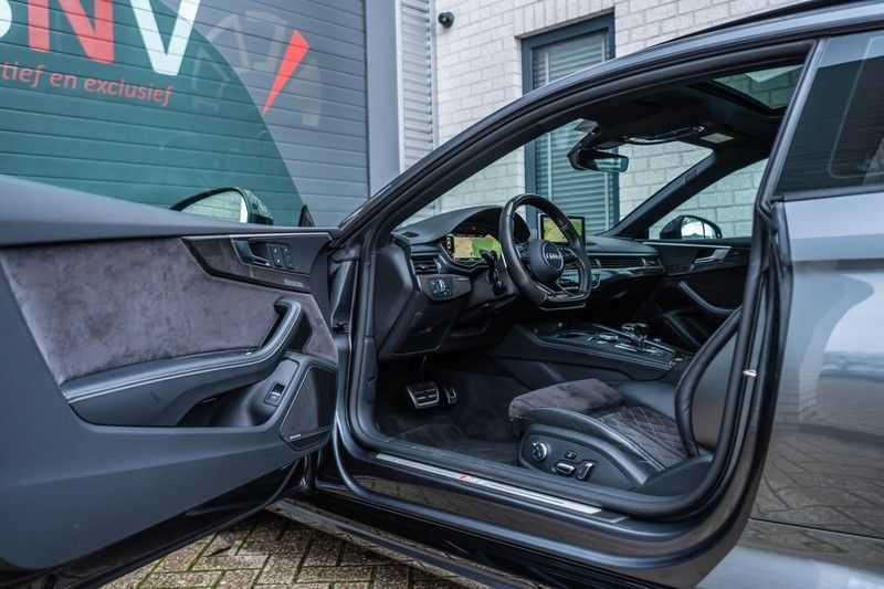 Audi RS5 Coupé 2.9 TFSI Quattro Pro Line Plus, 520 PK/JD, Full Capristo-R, Full Carbon, 20'' BBS Wheels, Pano/Dak, 52DKM!! afbeelding 9