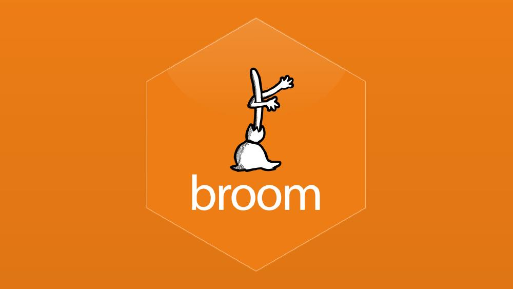 Convenient analysis with broom