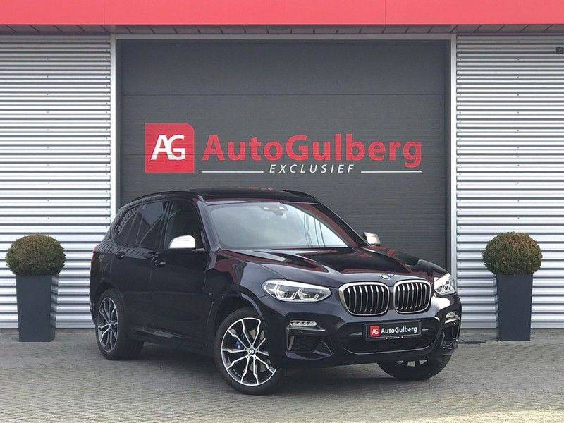 BMW X3 M40i VERKOCHT X-Drive M-Sport, 360PK, Pano, Head-Up, Keyless, Camera, Navi, Leder, 20INCH BTW! afbeelding 1