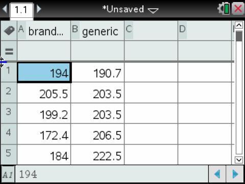TI-Nspire vs. R Statistics