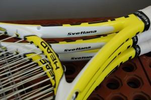 20080323 Svetlana Kuznetsova racquets