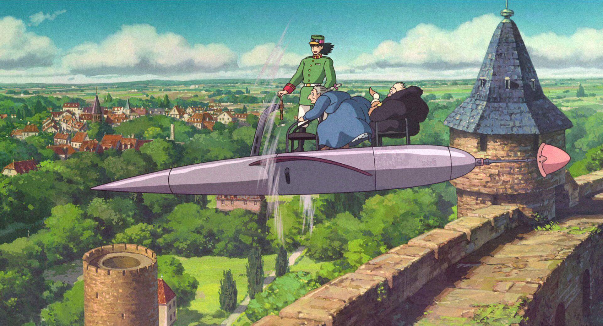 Кадр из «Ходячего замка» Хаяо Миядзаки. Источник: imdb.com