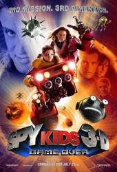 cover Spy Kids 3-D: Game Over
