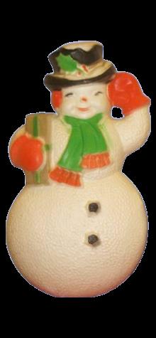 Mr. Snowman Plaque photo