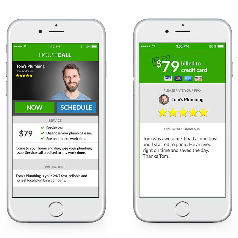 Housecall Consumer App Overview 2