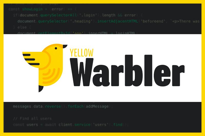 Yellow Warbler logo