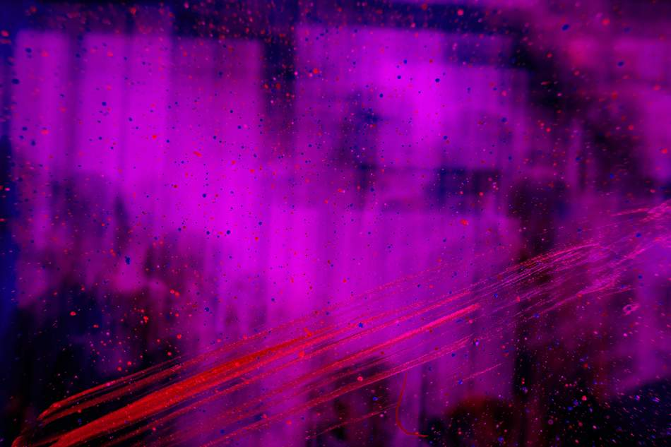 An Abstract purple image, representing Gatsby through the purple colour.