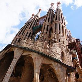 The Sagrada Família, in Barcelona, home of Startup Circle