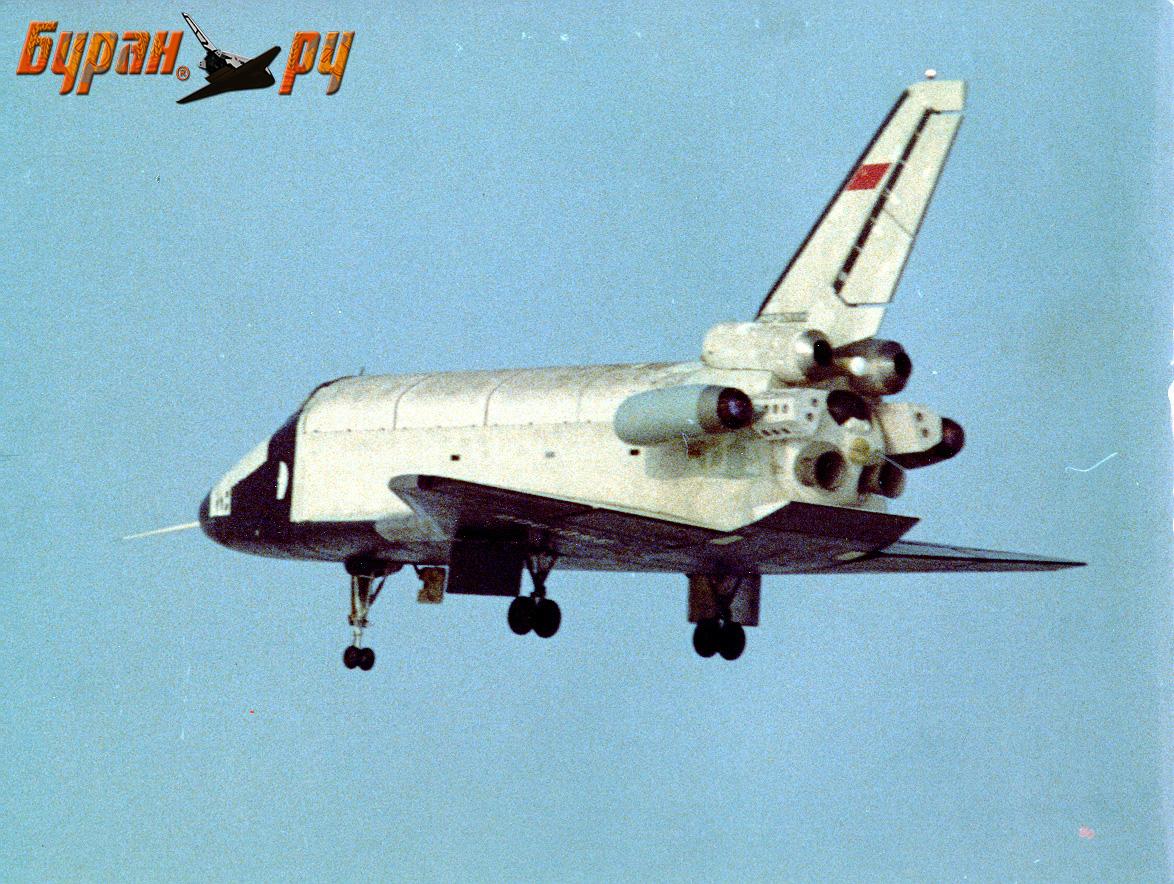 Figure 2: O variantă a navetei Buran cu motoare cu reacție (sursa foto: buran.ru)