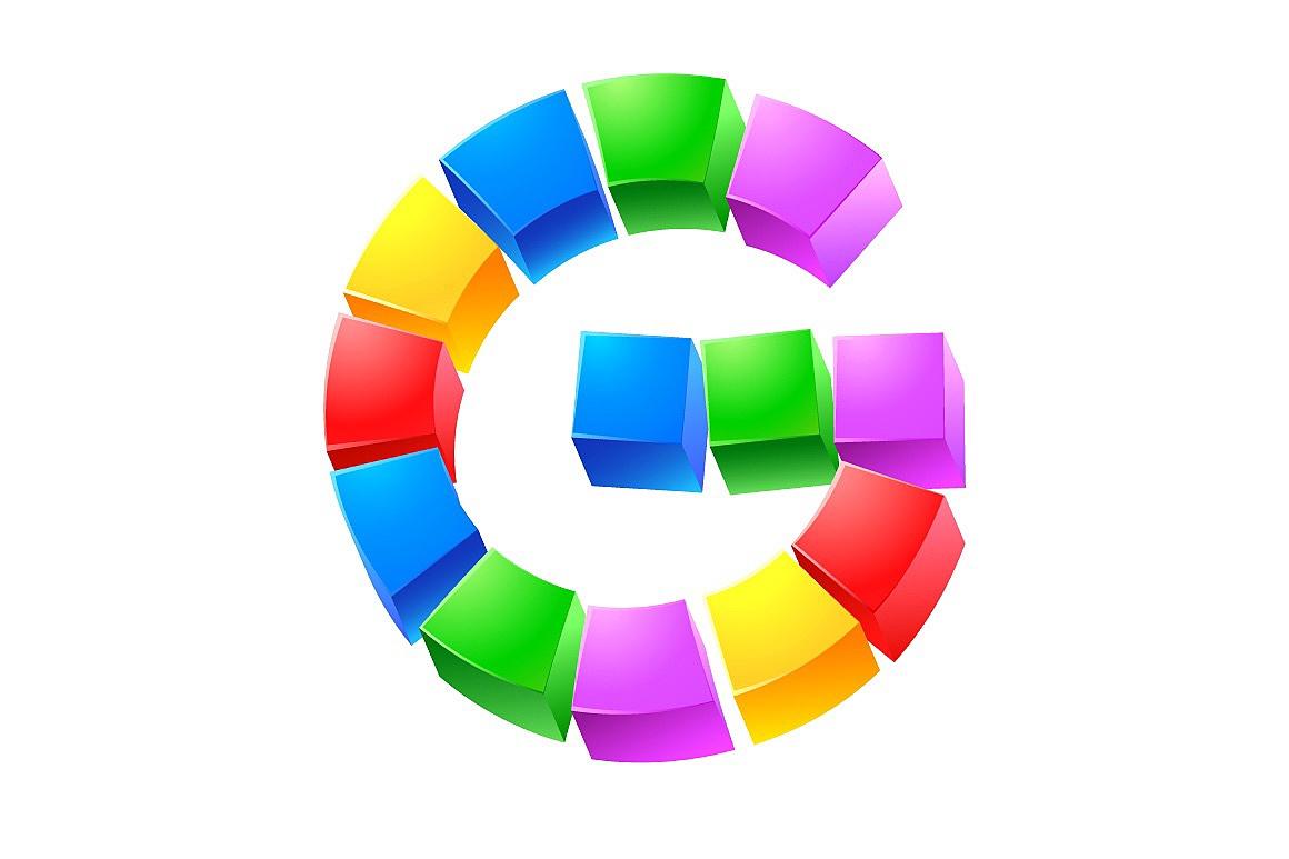 Alphabet of Kid's Blocks typefaces Cubes-kids_5.jpg