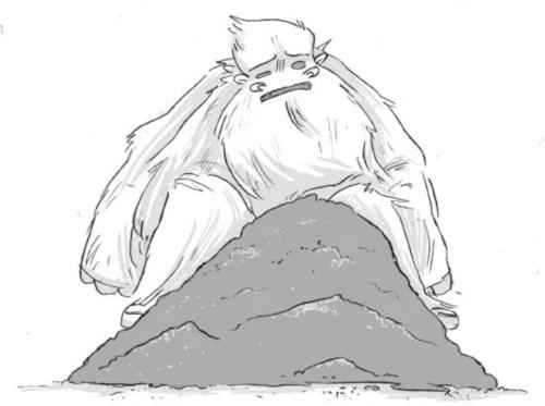 Sad Yeti Sketch