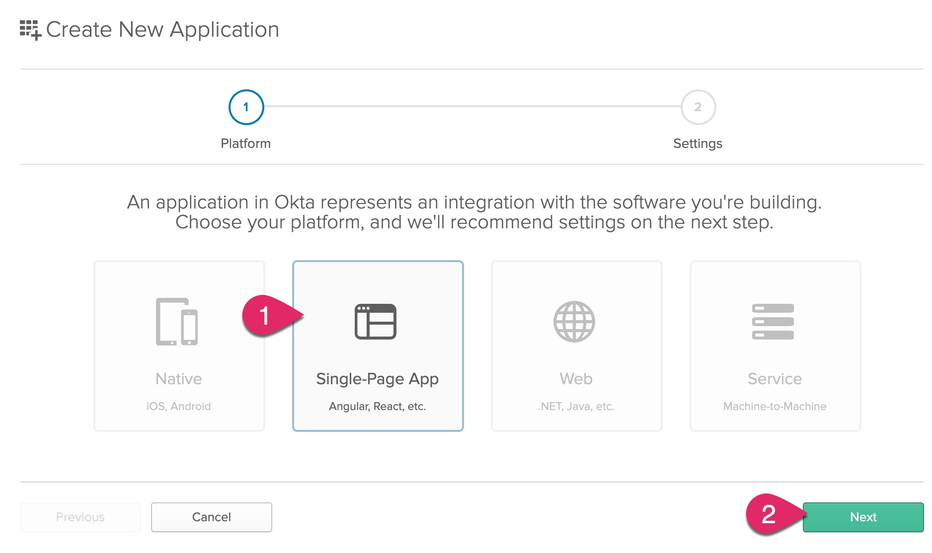 Add single-page app