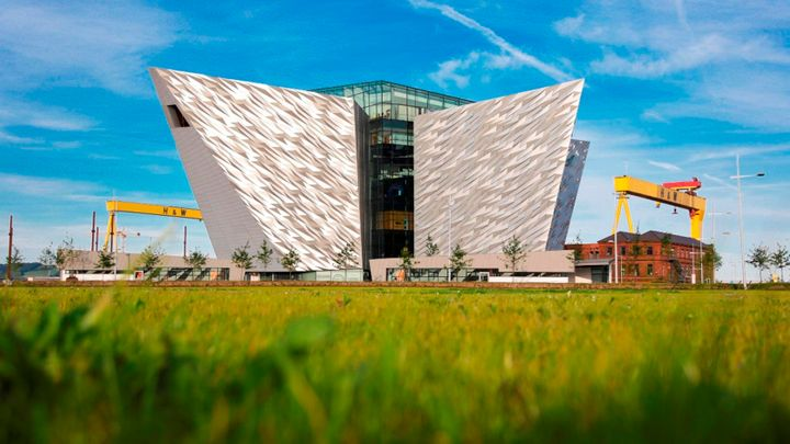Chauffeur Me Belfast City Tour Location – Titanic Building