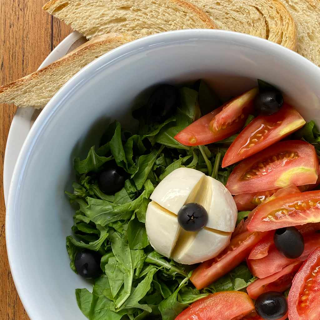salads: mozzarella salad