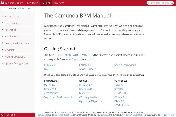 Camunda BPM Documentation
