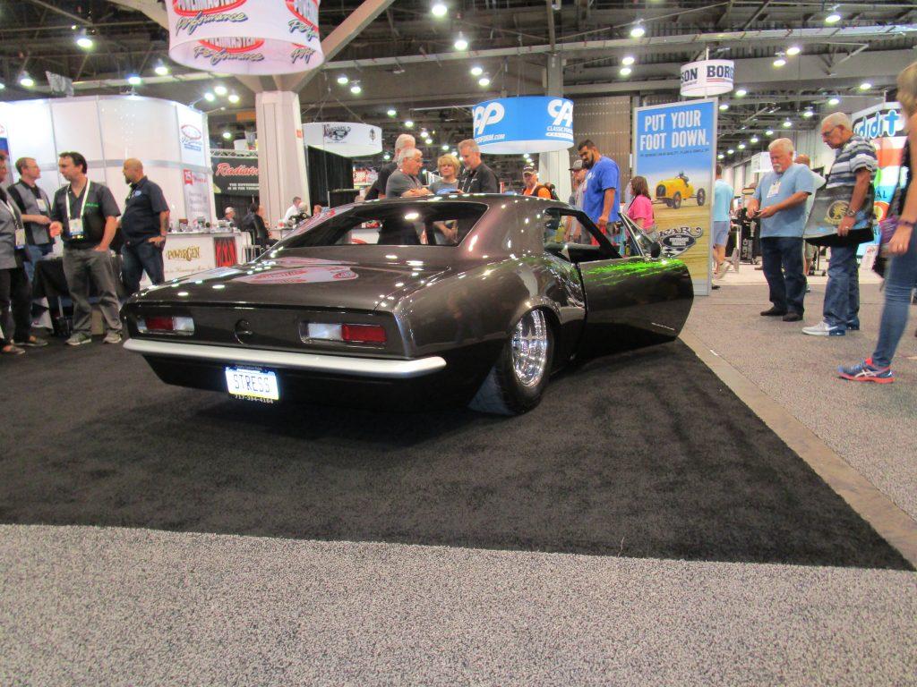 Gray Classic Sports Car