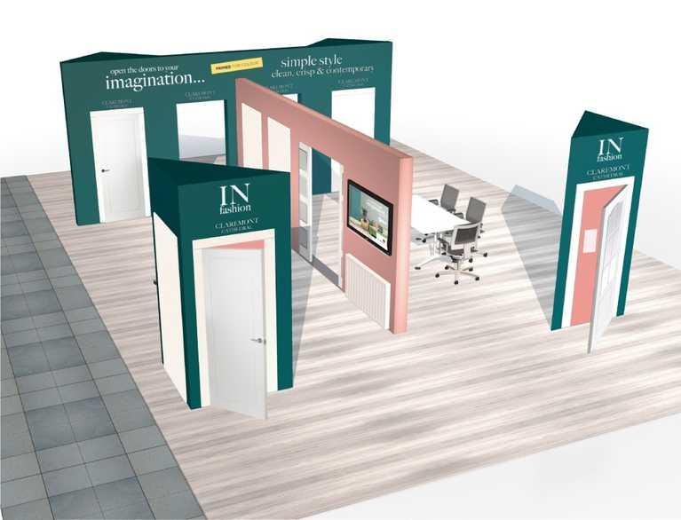 indoors trade display