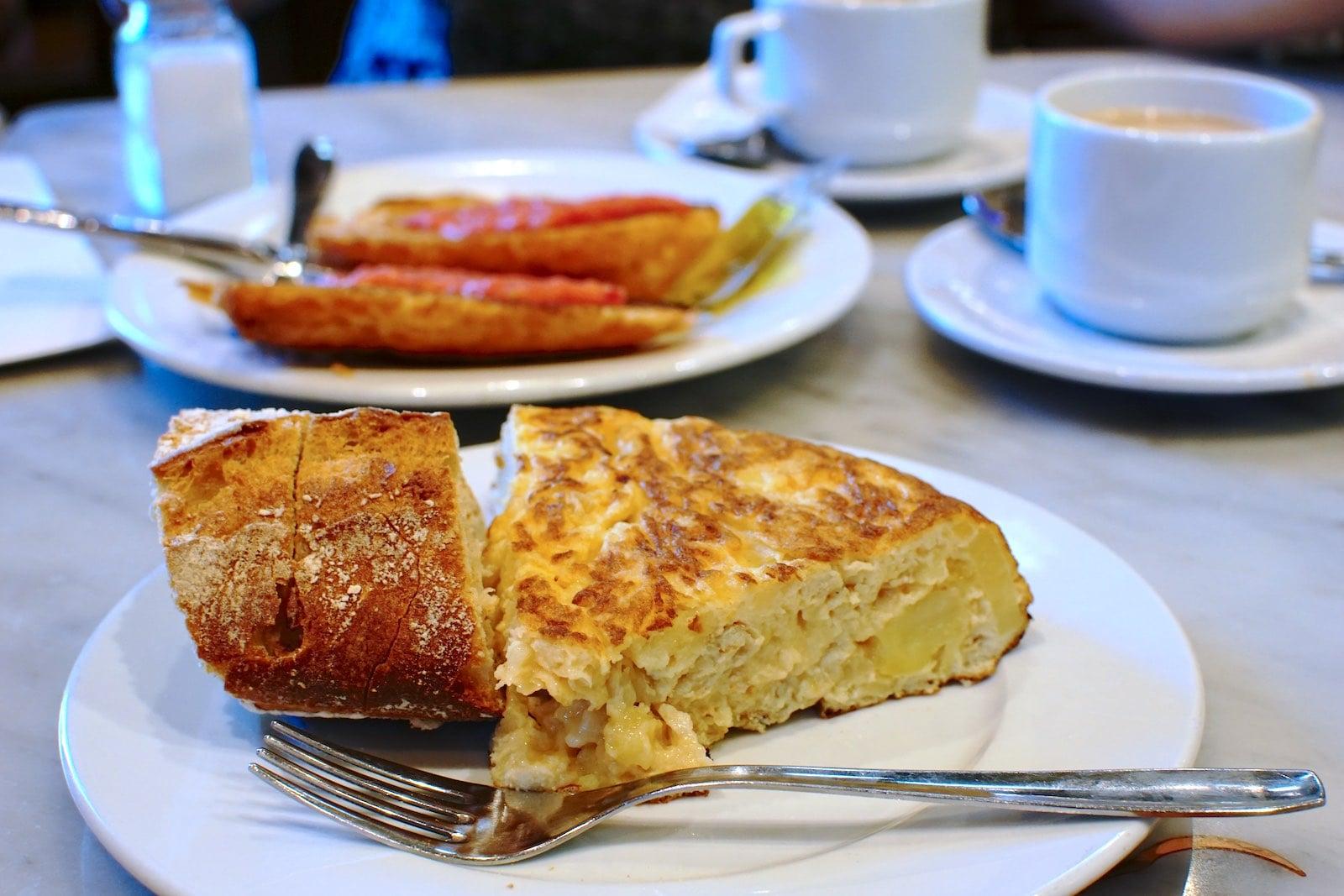 cover photo: Agahang Kastila: Pincho de Tortilla, Churros at Tostada de Tomate
