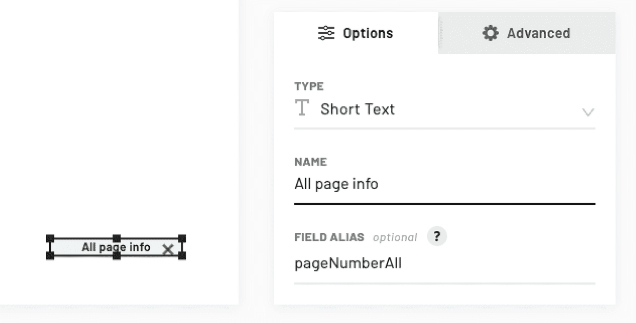 pdf all page numbers