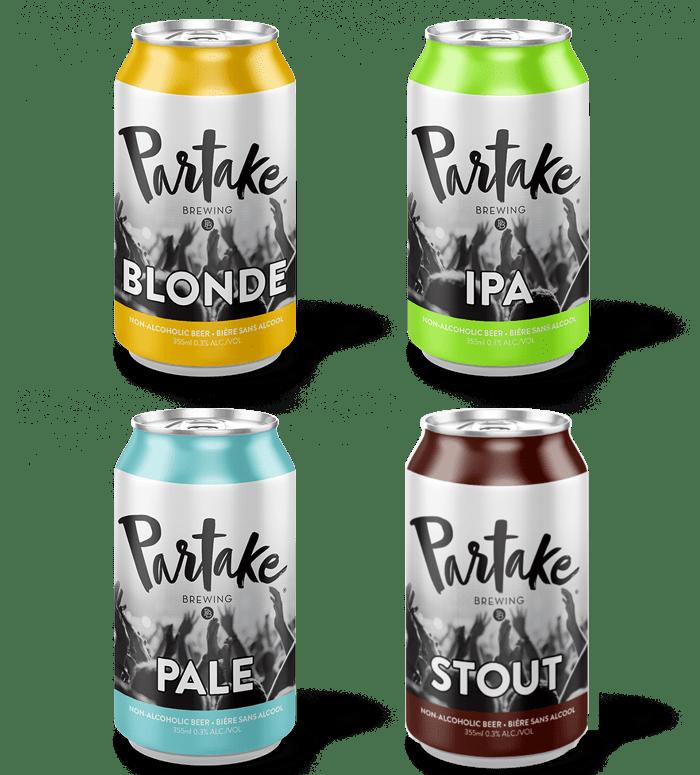 Partake Brewing Flavors