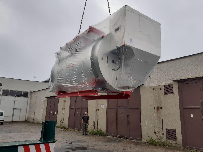 2019 - Jihlava - rekonstrukce zdroje páry