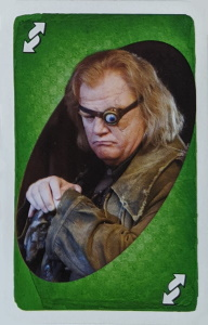 Harry Potter (2010) Green Uno Reverse Card