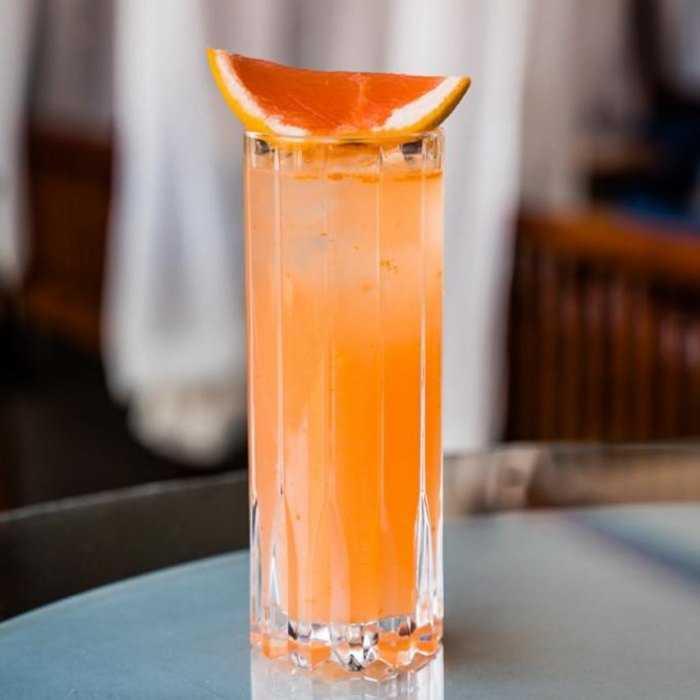 Winter Paloma Cocktail