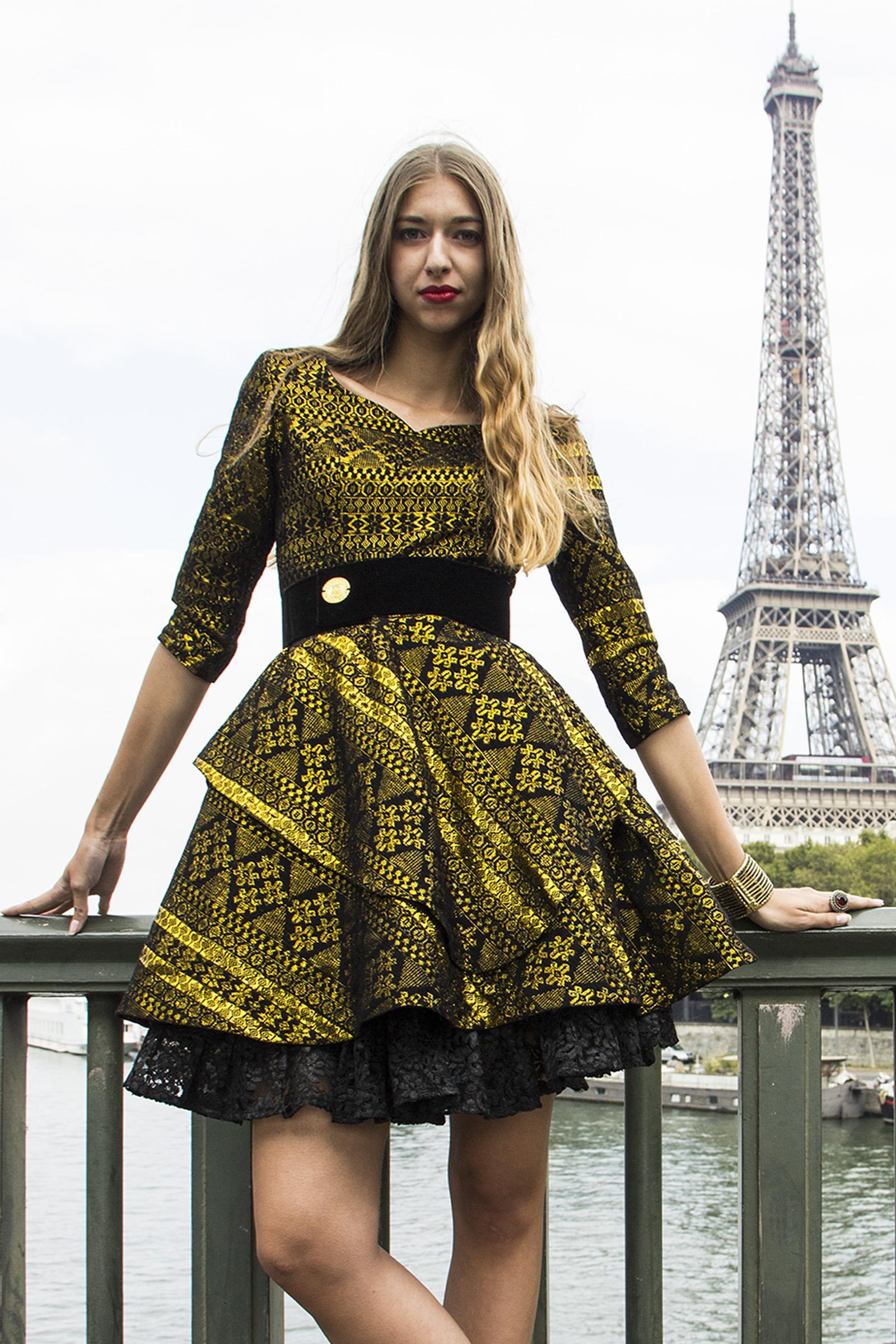 Maya Couture Dress