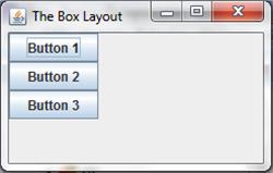 A box layout