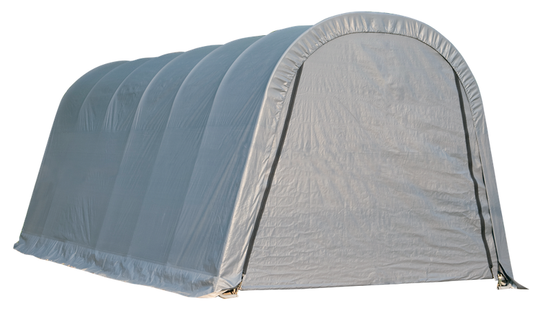 13x20x10 Round Shelter Grey Colour