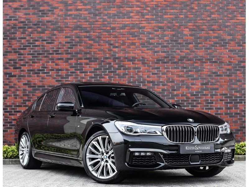 BMW 7 Serie 750d xDrive *M-sport*Head-Up*Asistant Plus* afbeelding 1