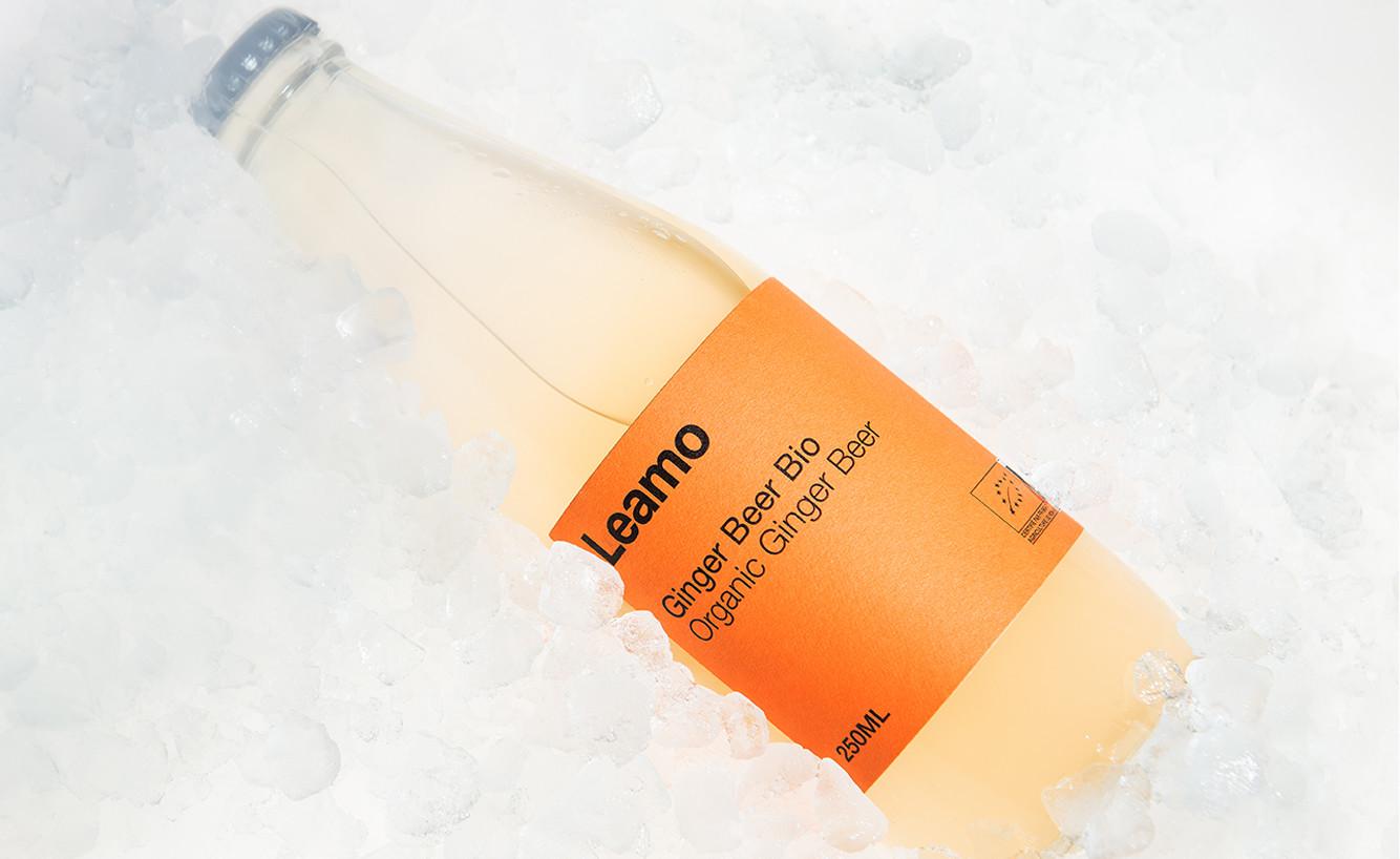 leamo organic ginger beer