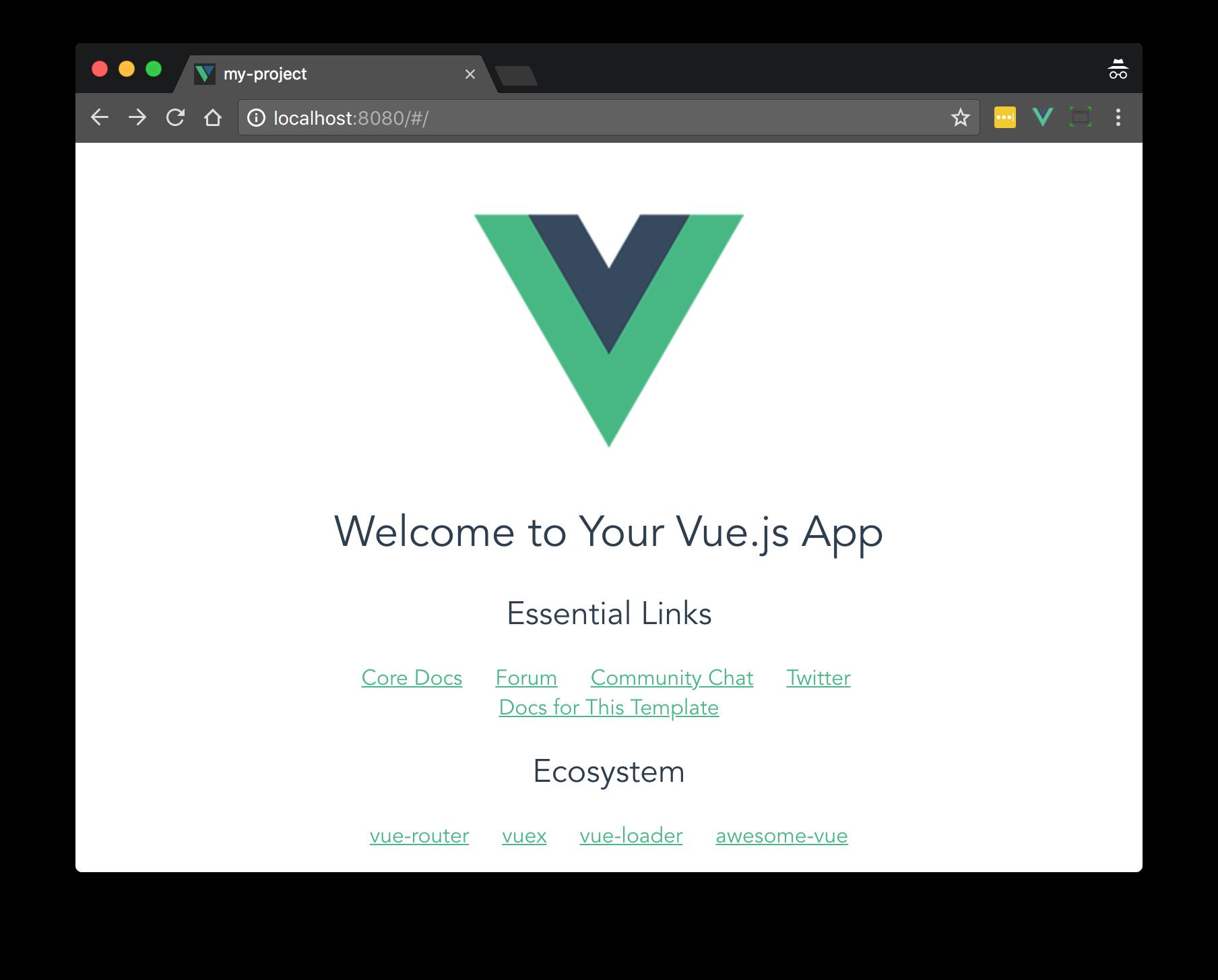 vue-webpack-boilerplate screenshot